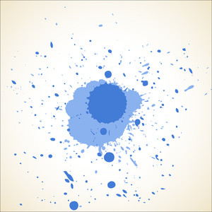 Rough Abstract Paint Drops Background