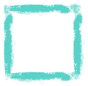 Rough Brush Strokes Frame Vector