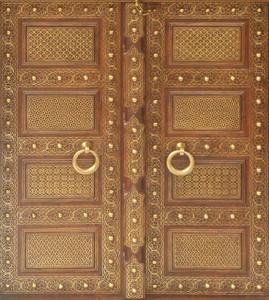 Royal-door  Seamless Texture