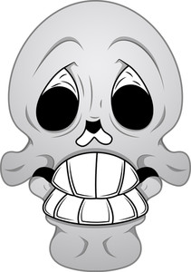 Royalty Free Vector   Funny Skull