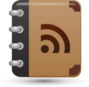 Rss Book Lite Media Icon