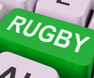 Rubgy Key Shows Sport Or Game Online