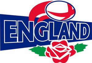 Rugby Ball England English Rose