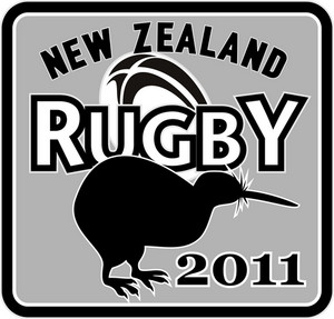 Rugby Ball Kiwi New Zealand 2011