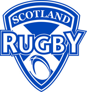 Rugby Ball Shield Scotland Flag