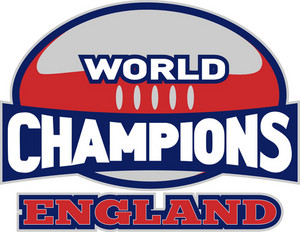 Rugby Ball World Champions England