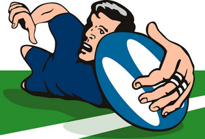 Rugby Dive Try