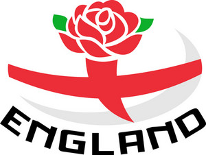Rugby England English Rose Ball Flag