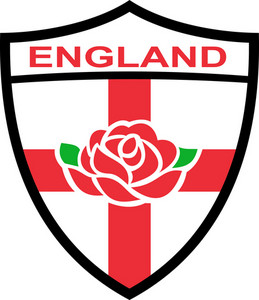 Rugby England English Rose Shield