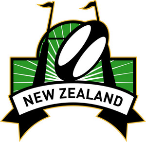 Rugby Goal Post Ball New Zealand