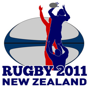 Rugby Lineout Throw Ball New Zealand 2011