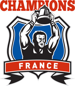 Rugby Player Champions Cup France
