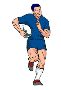 Rugby Running Luke