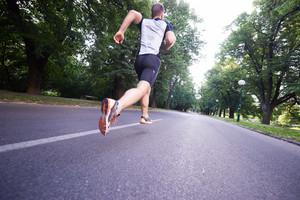 Runner in stride