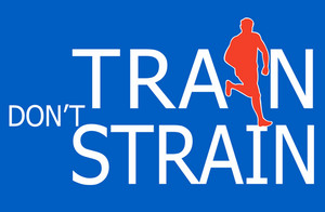 Runner  Silhouette Running Train Don't Strain