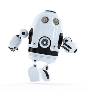 Running Android Robot