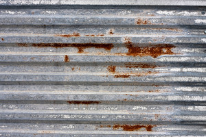 Rusted corrugated metal texture  Makes a great grungy background or backdrop.
