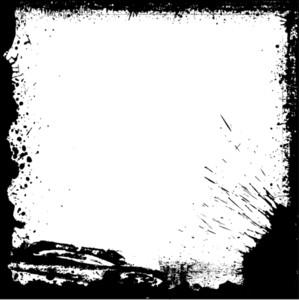 Rusty Grunge Frame Design