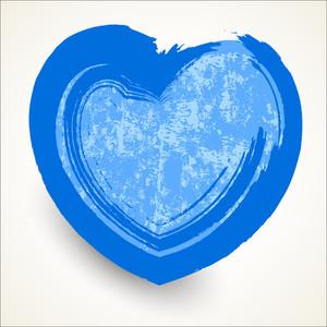 Rusty Grunge Heart