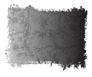 Rusty Scatter Grunge Banner