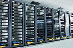 Sala do servidor de rede