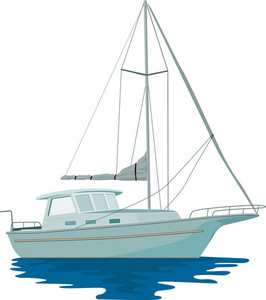 Sailboat Retro