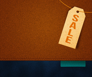 Sale Clothes Label Background