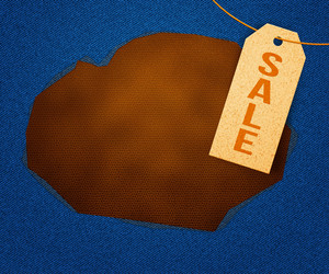 Sale Clothes Label