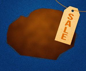 Sale Clothes Label