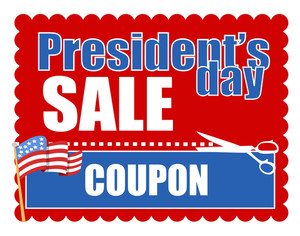 Sale Coupon For Presidents Day