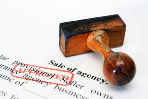 Sale Of Agency Form