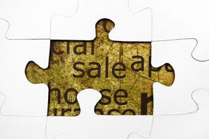 Sale Puzzle Concept