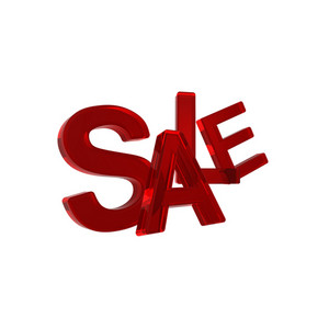 Sale - Red Sign.
