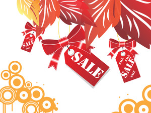 Sale Tag Isolated On White Background