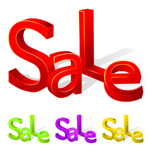 Sale Vector Sign.