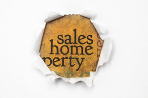 Sales And Home Concept
