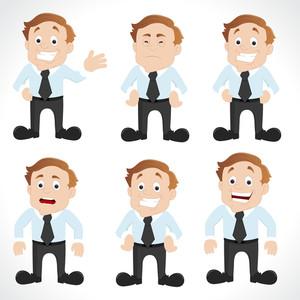 Salesman Characters Vectors