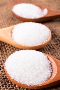 Salt In Wooden Spoon