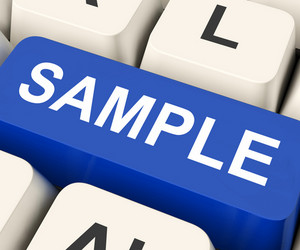 Sample Key Means Trial Or Sampling