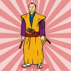 Samurai Warrior Kimono
