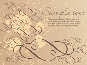 Sand Color Artistic Pattern Background