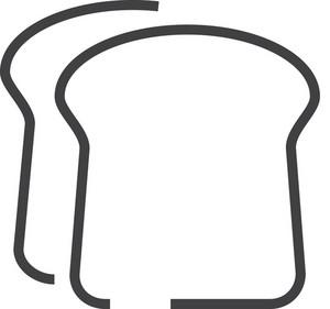 Sandwich Minimal Icon
