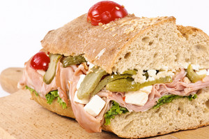 Sandwich On The Board