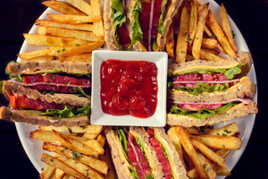 Sandwiches And French Fries