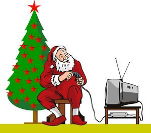 Santa Claus Playing Ps2