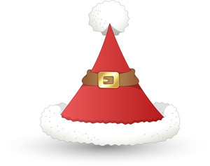 Santa Hat - Christmas Vector Illustration
