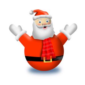 Santa Snowman Gloves