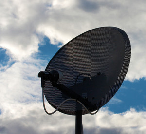Satellite Dish For Communications
