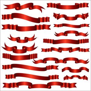 Satin Ribbon Banners