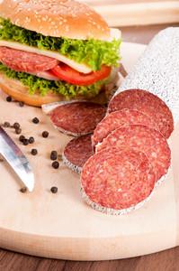 Sausage And Sandwich